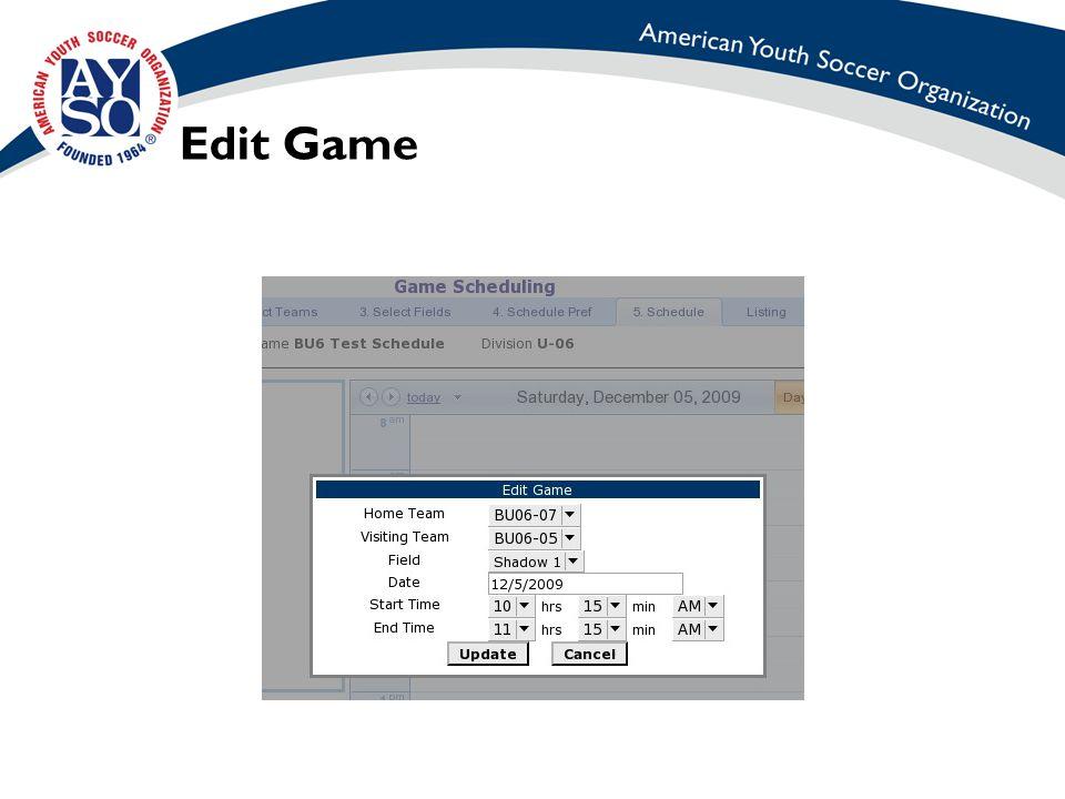 Edit Game