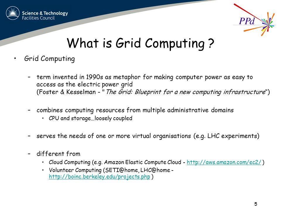What is Grid Computing .