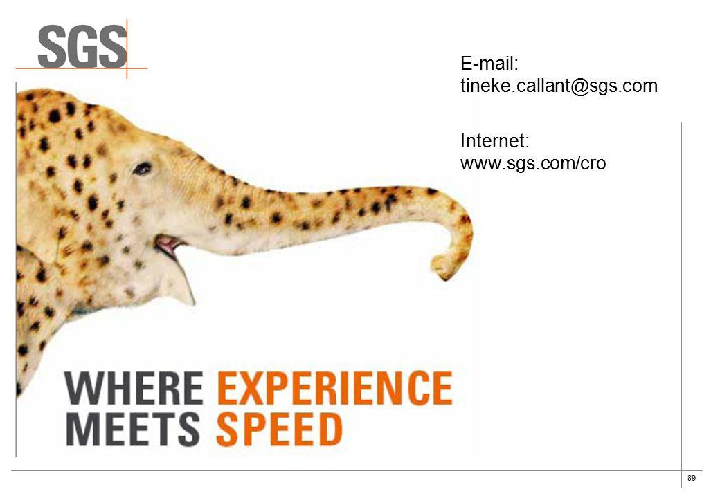 89 E-mail: tineke.callant@sgs.com Internet: www.sgs.com/cro
