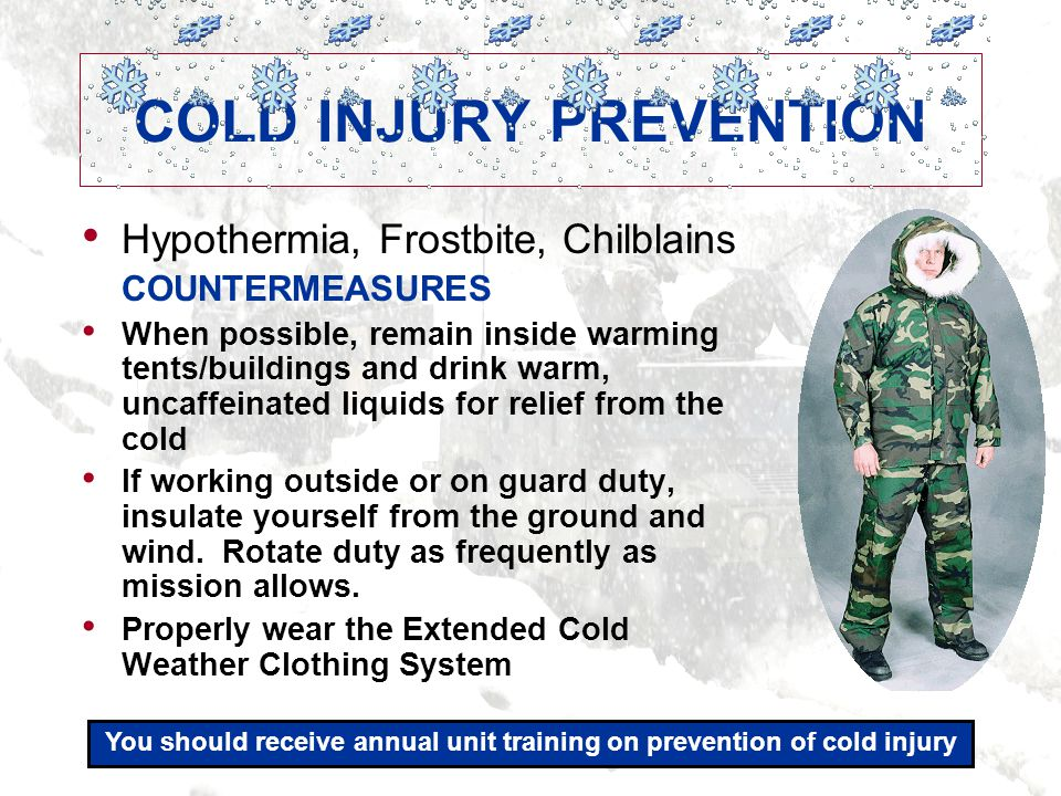 04.07 31 SUNBURN Sunburn reduces soldier readiness and increases the likelihood of skin cancer.