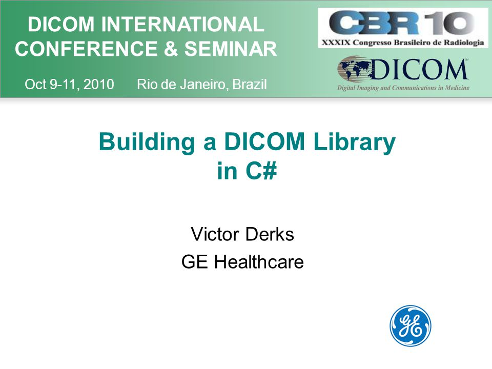 Contents Introduction Design Goals Inception Approach and Effort Design Challenges Character Encoding DICOM C-STORE on a Wide Area Network (WAN) DICOM Operations on a Wide Area Network Conclusions Recommendations