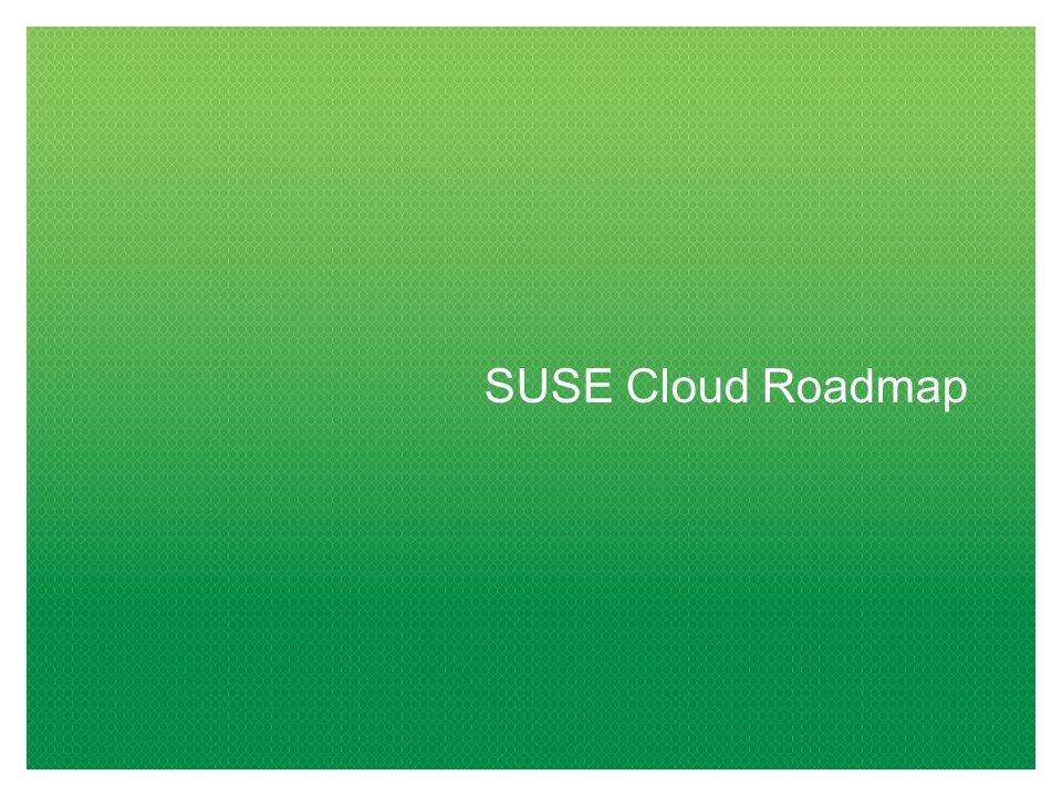 SUSE Cloud Roadmap