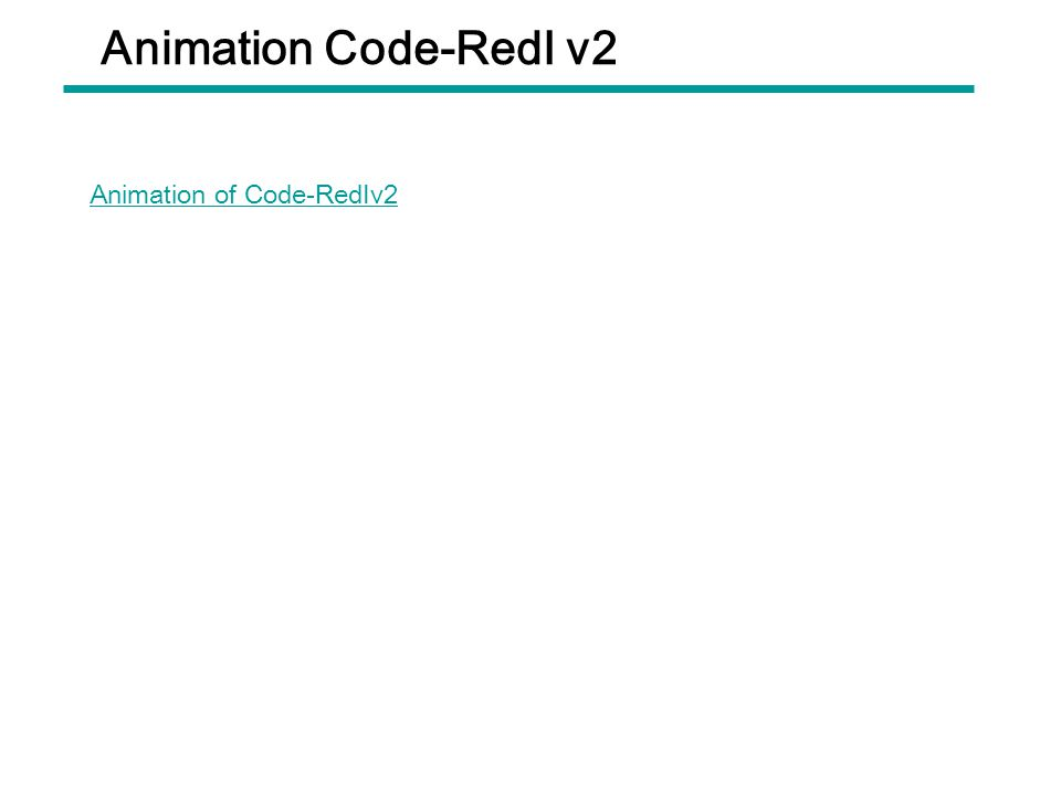 Animation Code-Red Ⅰ v2 Animation of Code-Red Ⅰ v2