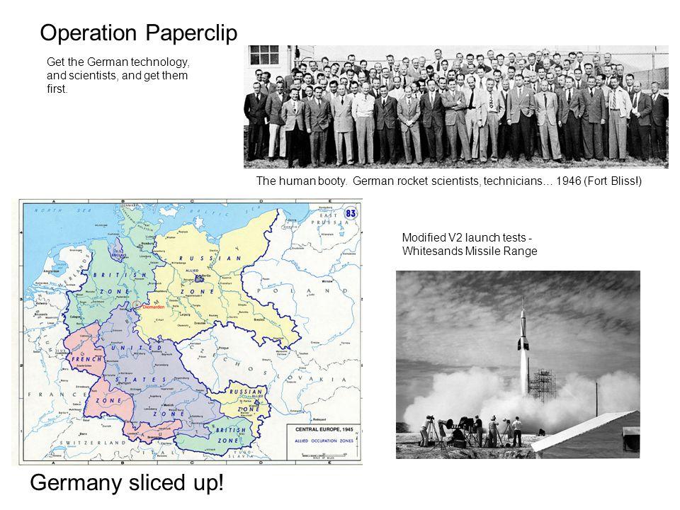 Germany sliced up.