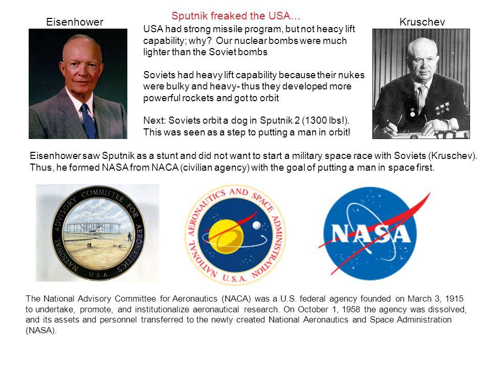 The National Advisory Committee for Aeronautics (NACA) was a U.S.