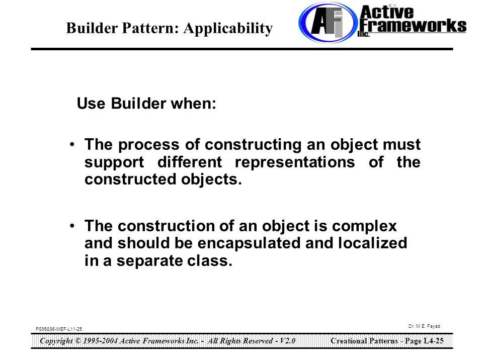 Copyright © 1995-2004 Active Frameworks Inc.