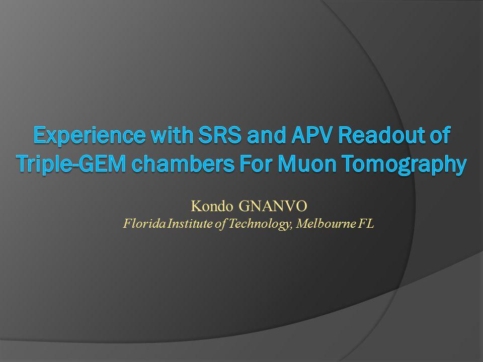 Kondo GNANVO Florida Institute of Technology, Melbourne FL