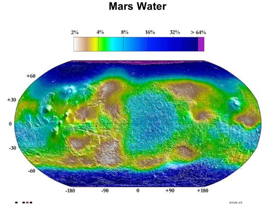Slide 28 Mars Water