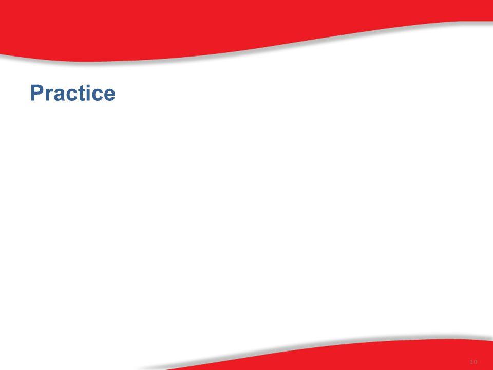 Practice 10