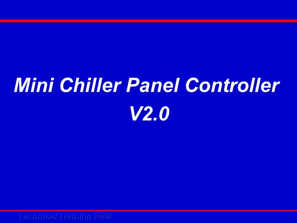 Mini Chiller Panel Controller V2.0