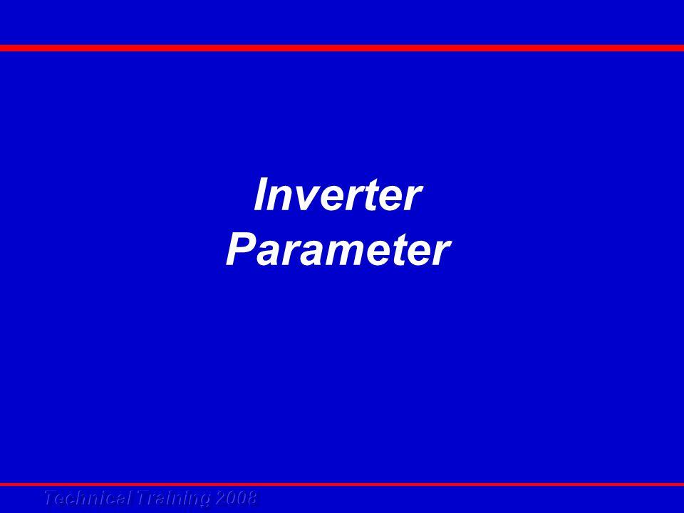 Inverter Parameter