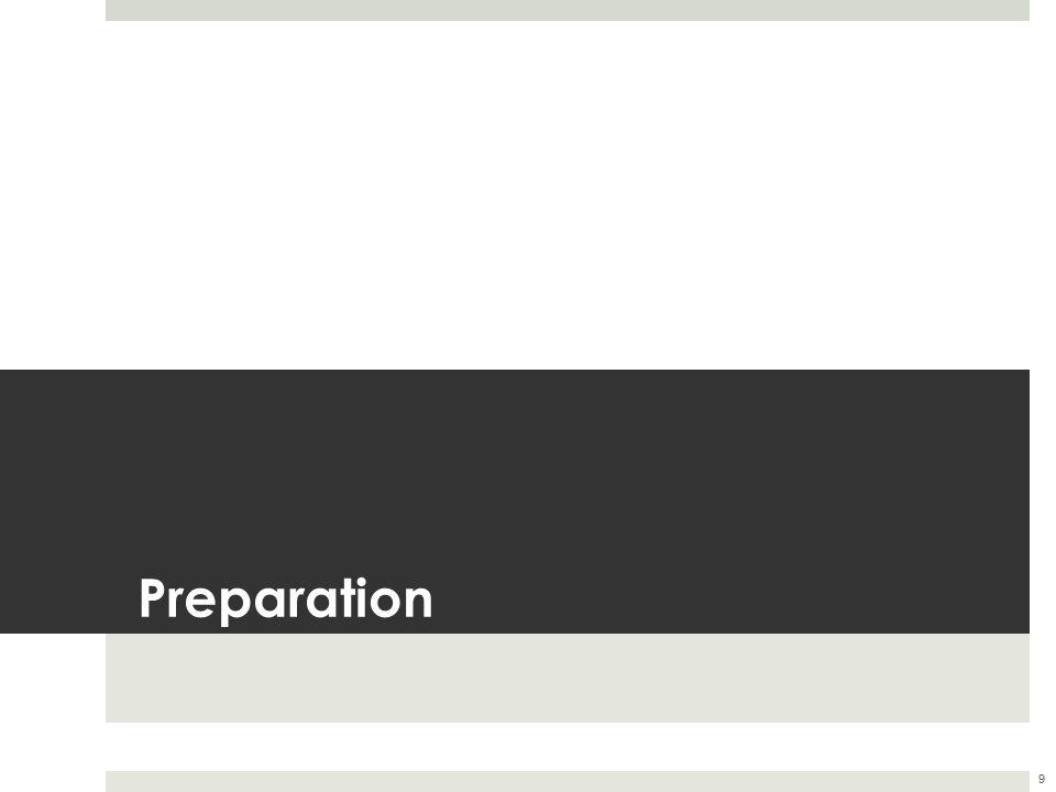 Preparation 9