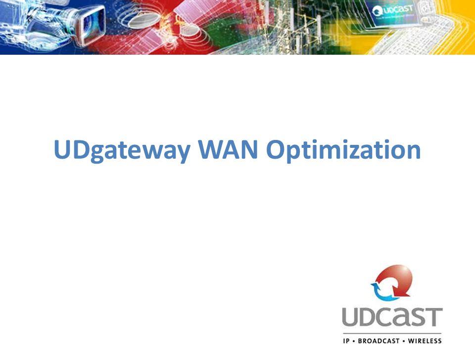 UDgateway WAN Optimization
