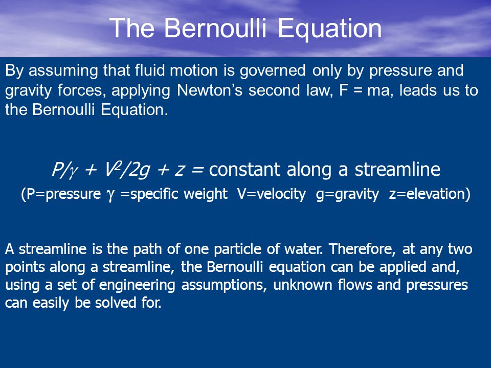 The Continuity Equation Why does a hose with a nozzle shoot water further.