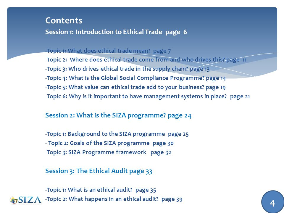 Topic 1: What is an Ethical Audit? 35
