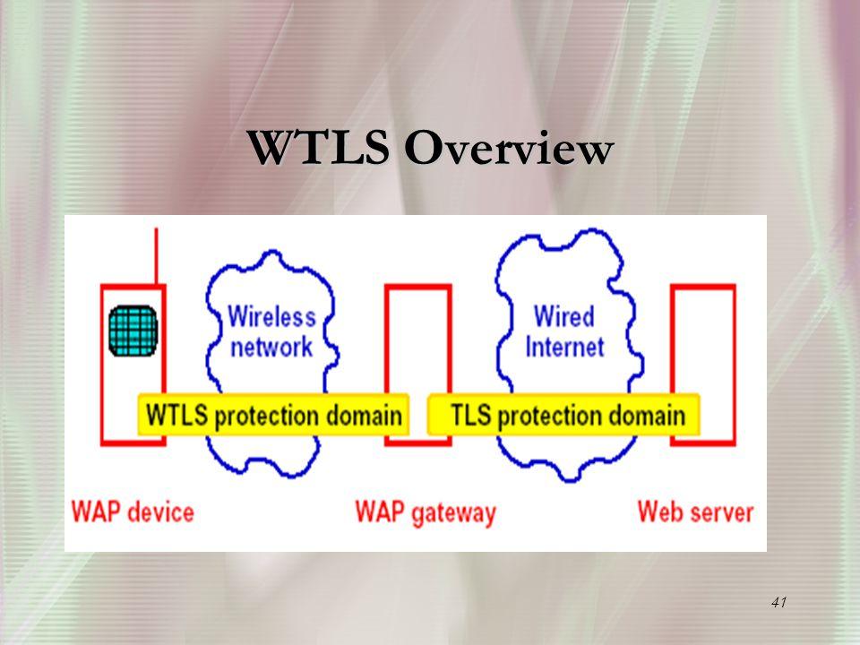 41 WTLS Overview