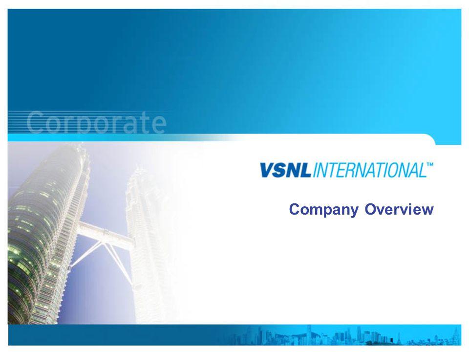 www.vsnlinternational.com Company Overview