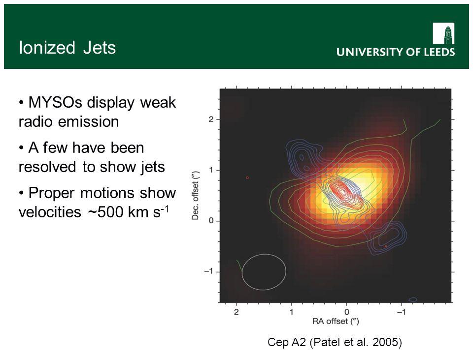 'HCHII' Morphologies - Cometary G24.78+0.08 A1 (Beltran et al.