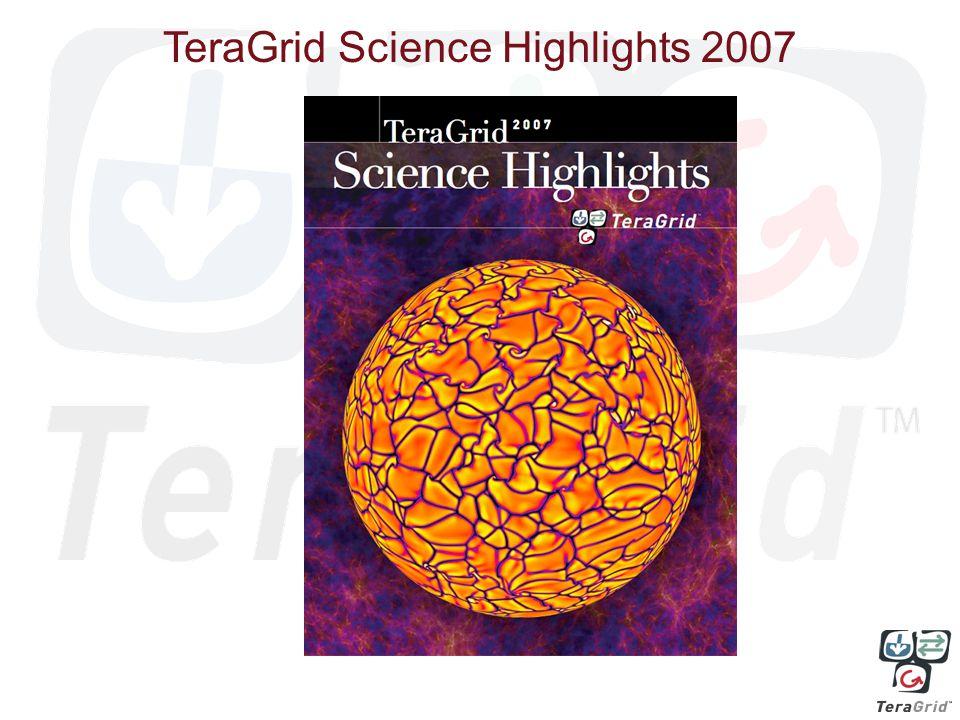 TeraGrid Science Highlights 2007