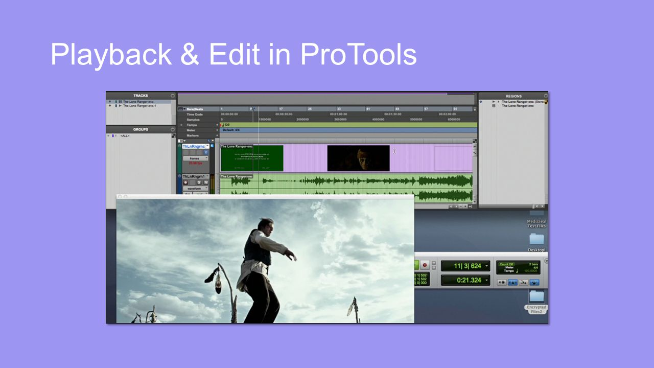 Playback & Edit in ProTools