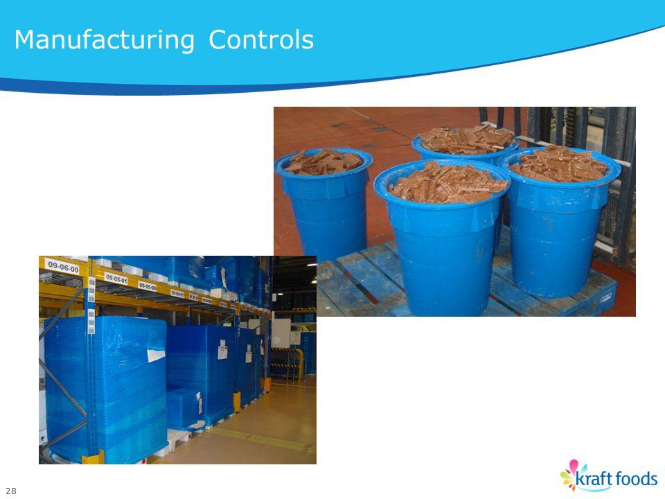 28 Manufacturing Controls