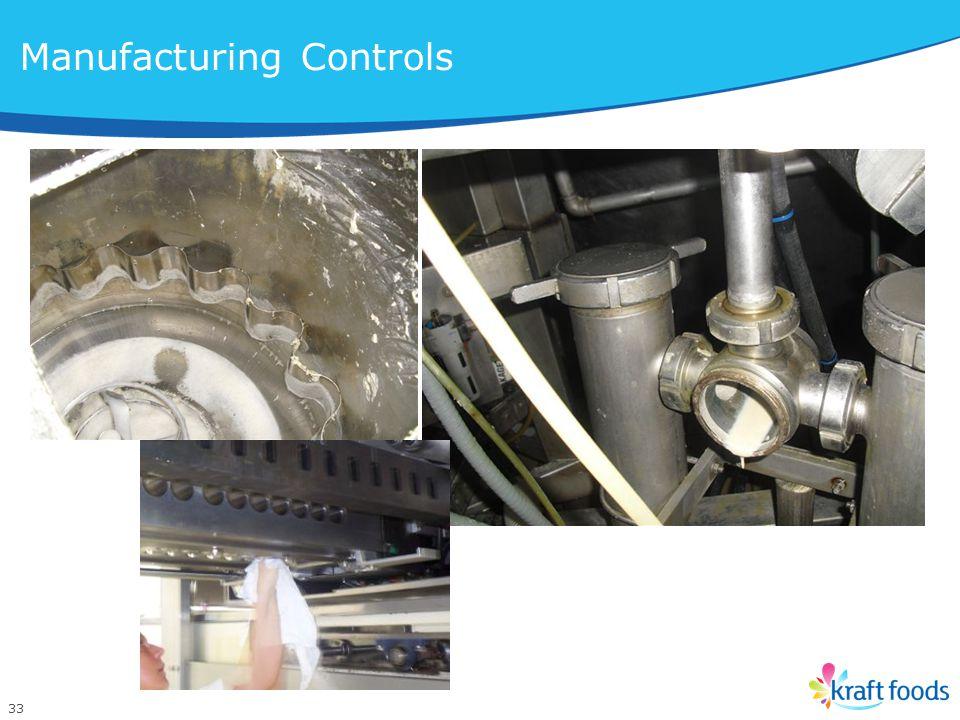 33 Manufacturing Controls