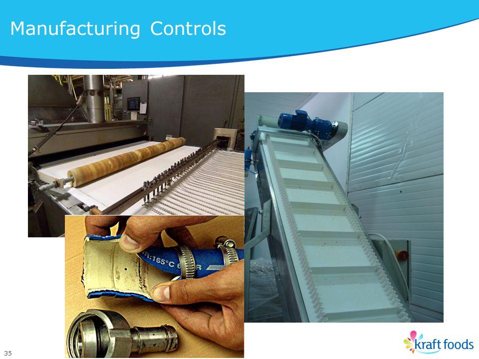 35 Manufacturing Controls