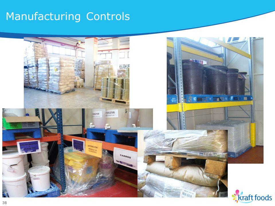38 Manufacturing Controls