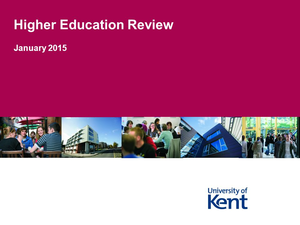 Higher Education Review January 2015
