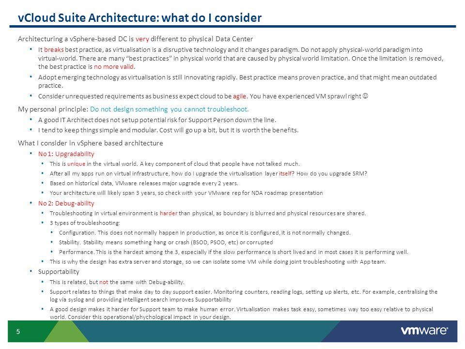 96 Management Design Performance, Capacity, Configuration