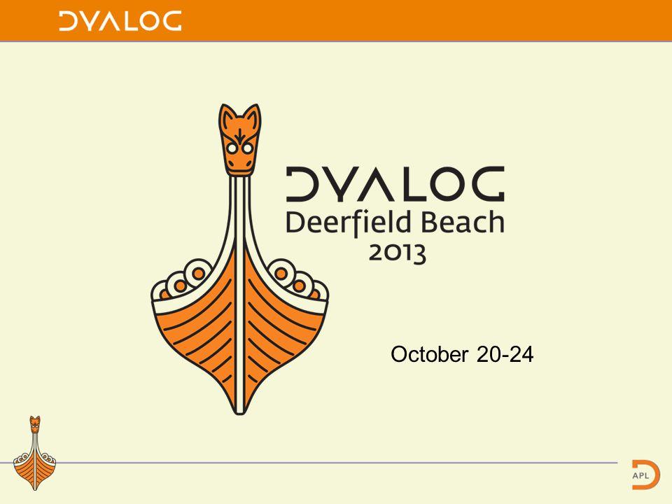 October 20-24