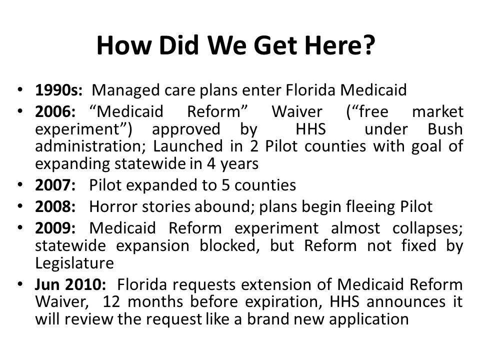 During the Transition Recipients must be able to continue getting the services and medications they've relied on from their new plan.