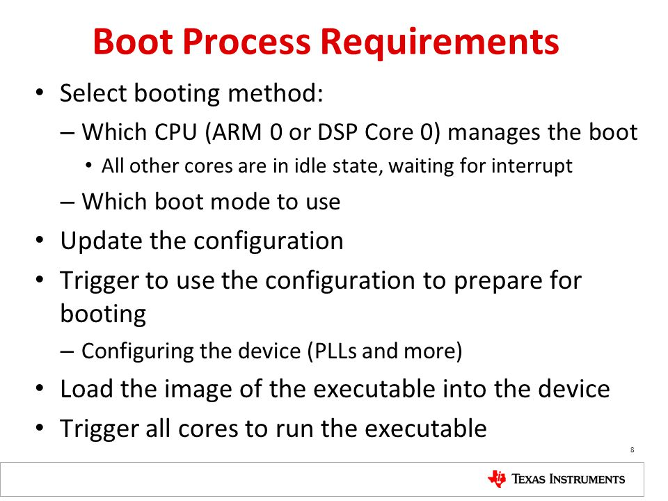 Boot Configuration – Ethernet Ethernet(SGMII) boot configuration sets SERDES clock and device ID.