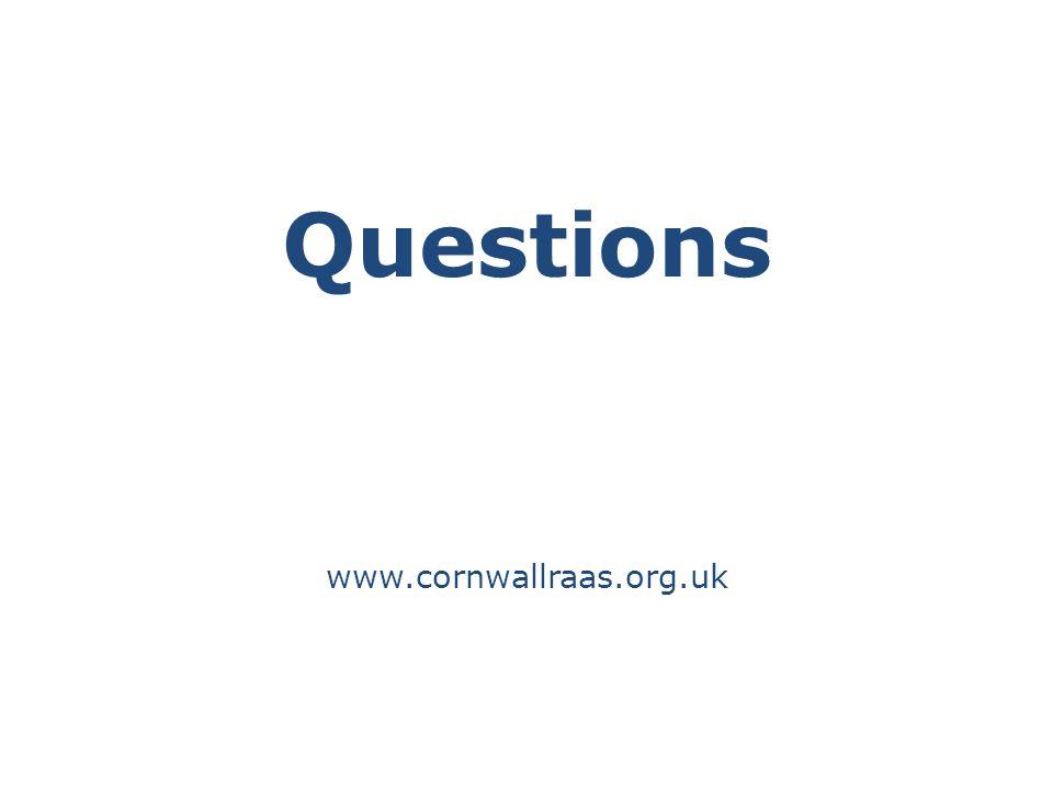 Questions www.cornwallraas.org.uk