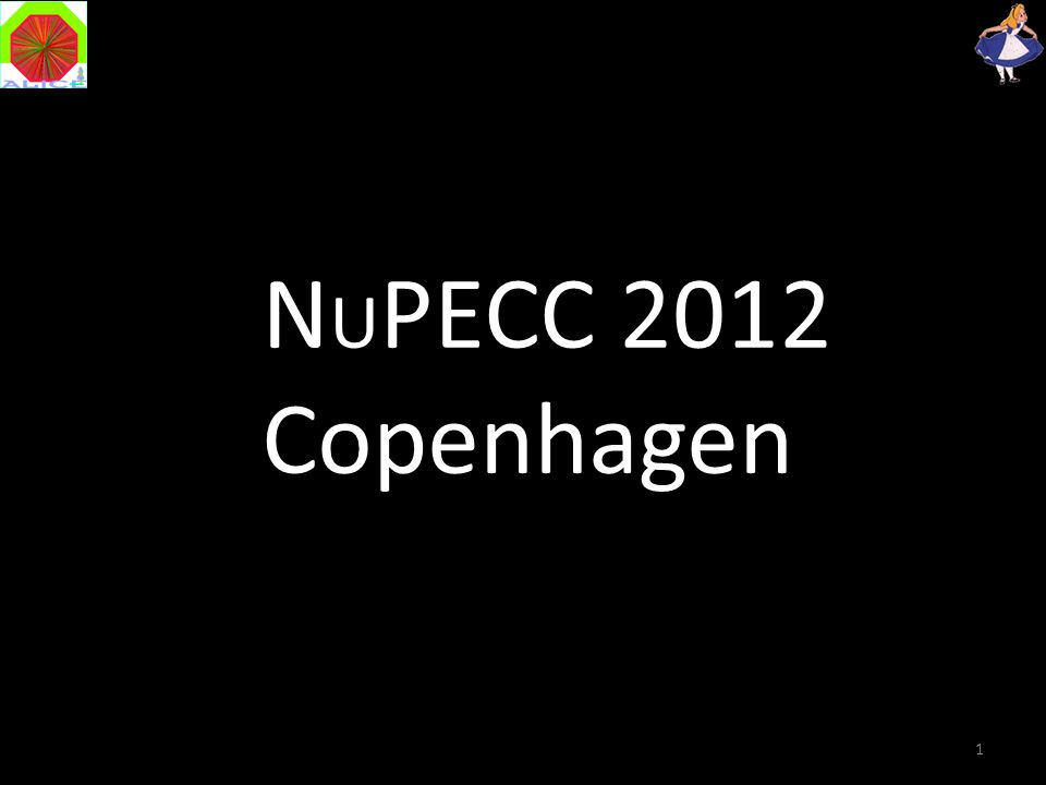 1 N U PECC 2012 Copenhagen