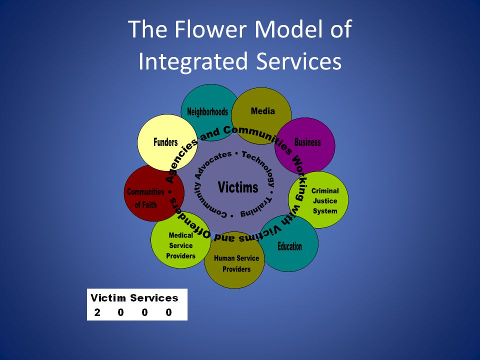 The Flower Model of Integrated Services