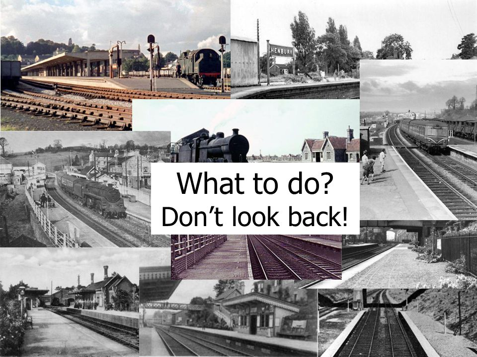 Aspirations What to do Don't look back!