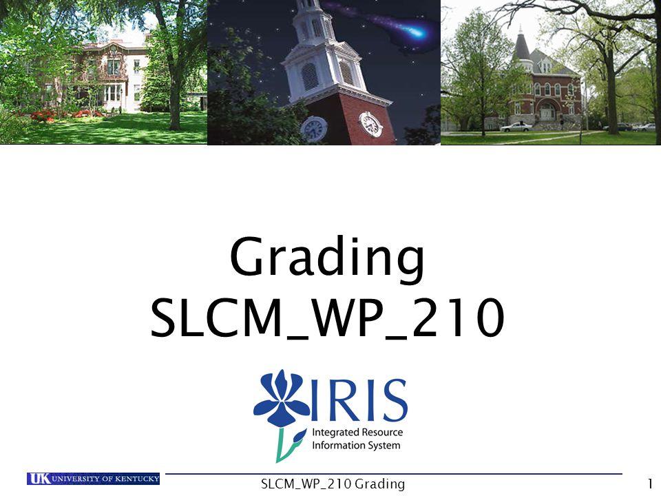 Grading SLCM_WP_210 SLCM_WP_210 Grading1