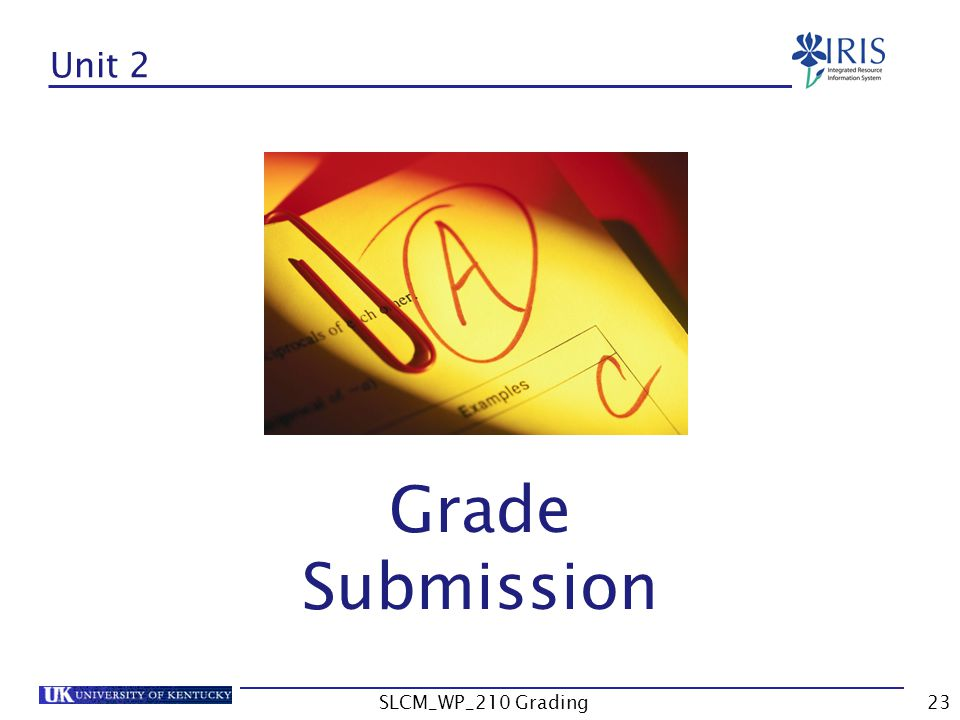 Unit 2 Grade Submission SLCM_WP_210 Grading23