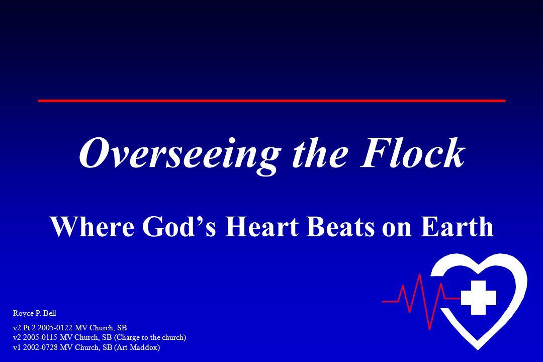 Royce P. Bell v2 Pt 2 2005-0122 MV Church, SB v2 2005-0115 MV Church, SB (Charge to the church) v1 2002-0728 MV Church, SB (Art Maddox) Overseeing the