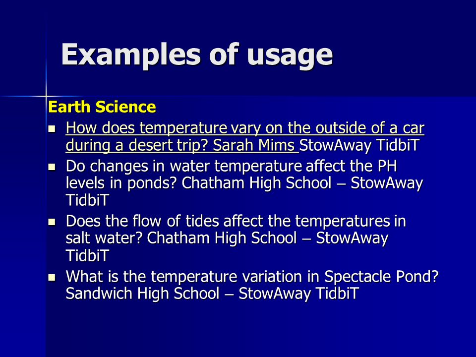 Earth Science How does temperature vary on the outside of a car during a desert trip.