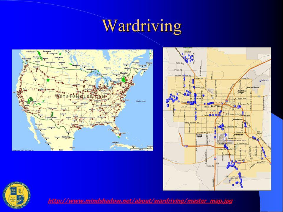 Wardriving http://www.mindshadow.net/about/wardriving/master_map.jpg