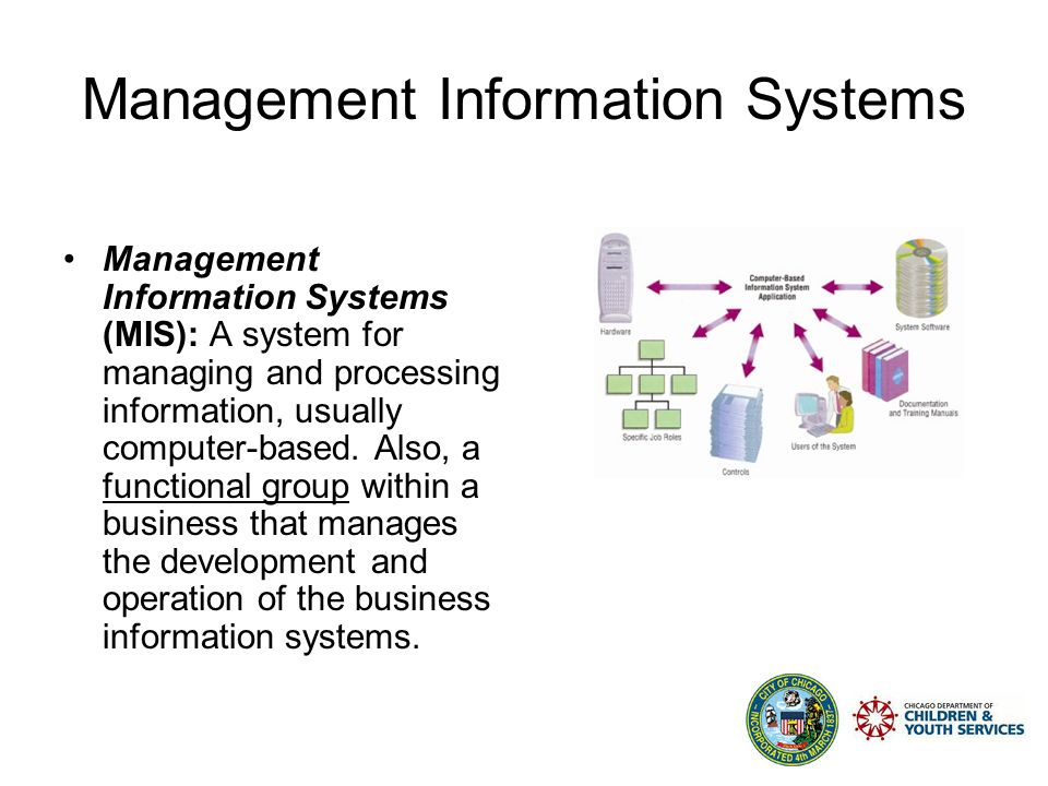 Management Information Systems Agenda Introduction High-Level Overview of CYS Systems –COPA –CCMIS –IMEDGE Best Practices Unisys Q&A
