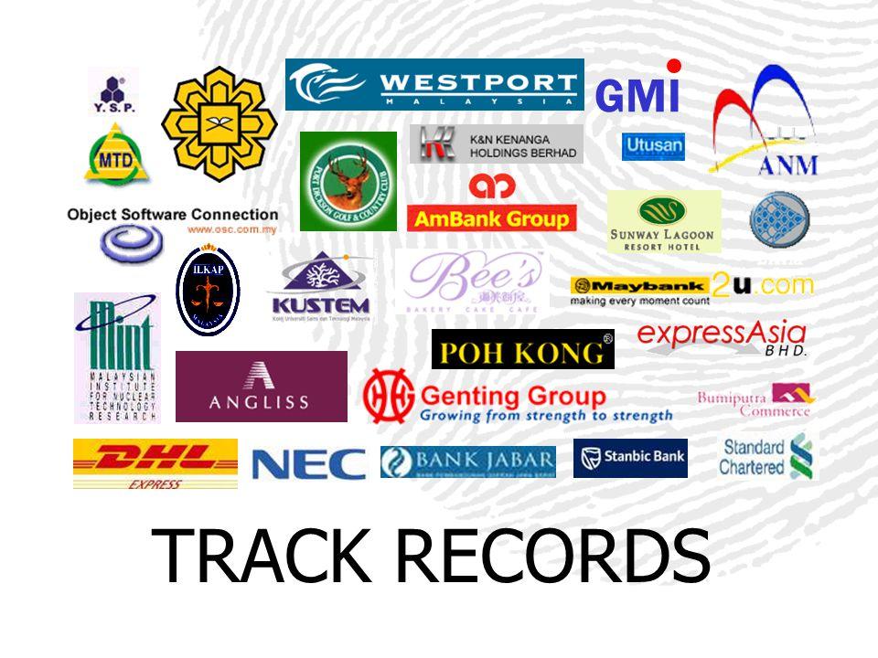 TRACK RECORDS GMI