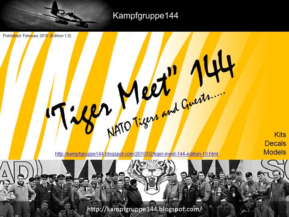 Tiger Notes Tiger Meet 144