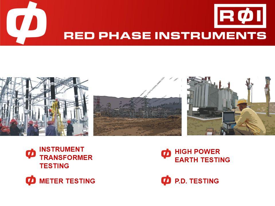 HIGH POWER EARTH TESTING METER TESTING INSTRUMENT TRANSFORMER TESTING P.D. TESTING