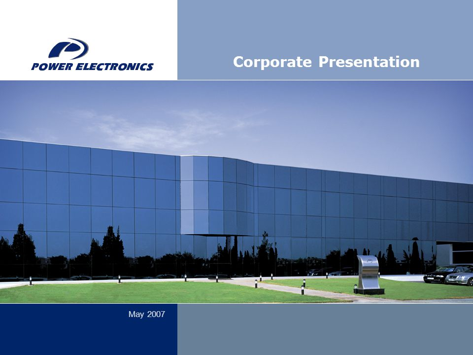 May 2007 Corporate Presentation