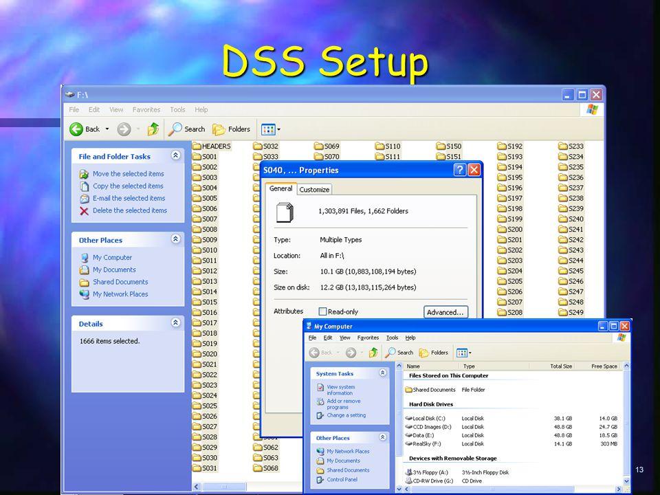 13 DSS Setup