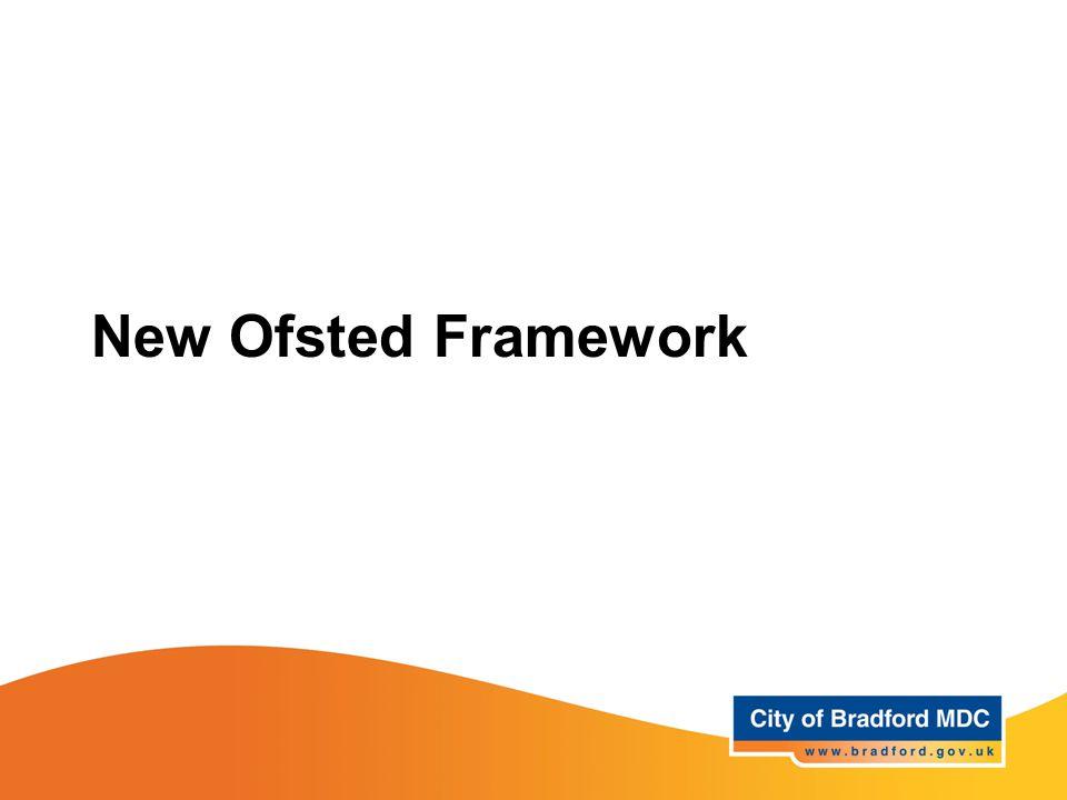 New Ofsted Framework