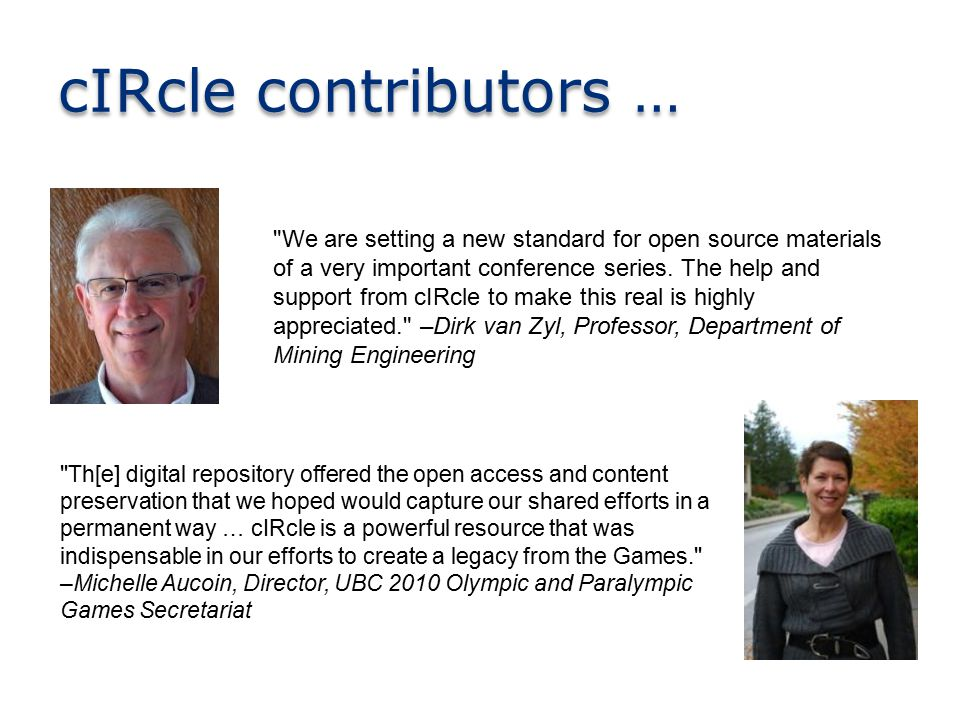 We are setting a new standard for open source materials of a very important conference series.